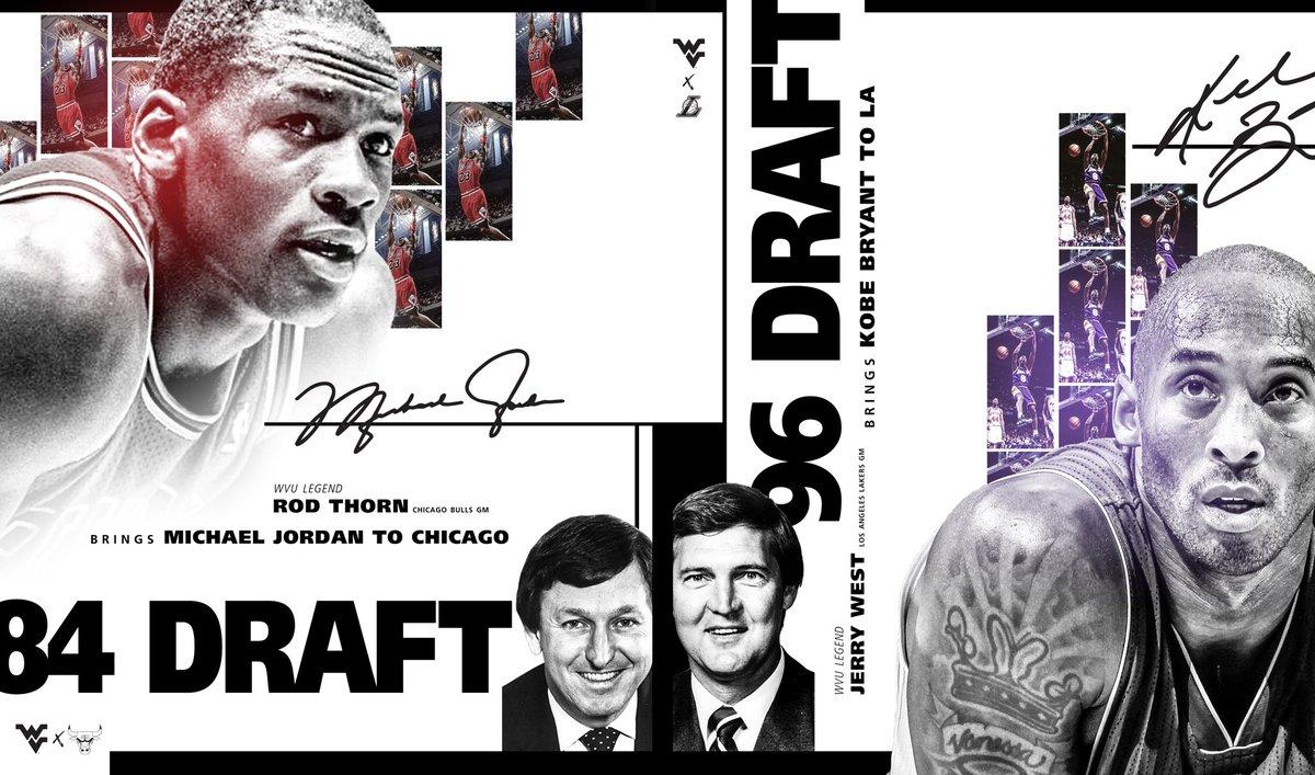 WVU 🐐s ➕ NBA 🐐s  #HailWV https://t.co/aBBh2H5h7L