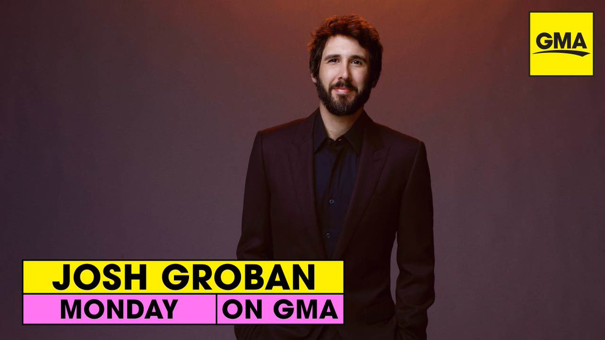 Tune-in alert: Josh is back on @GMA tomorrow for a special #ShowerSongs performance! 🚿