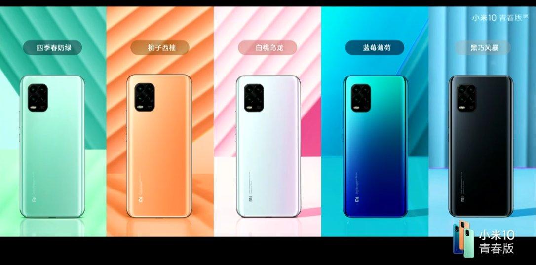 Xiaomi Mi 10 Youth Edition Prezzi rivelati, Mi 10 Lite Zoom Edition anche suggerito