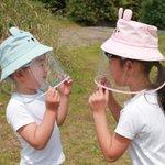 【新製品】コジット。マスクを嫌がる子どもでも被るだけで使える「飛沫対策ガード帽子」
