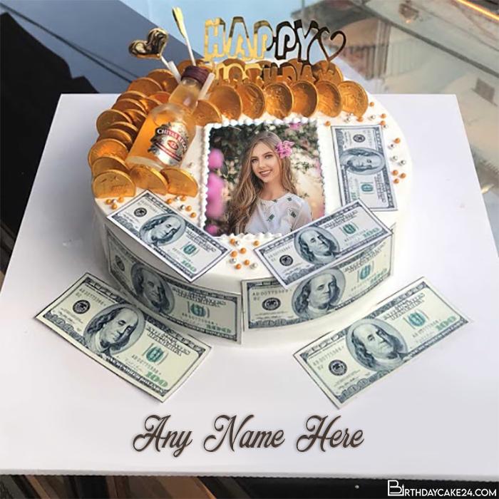 Amazing Birthday Cake With Name On Twitter Sample Money Birthday Cake Funny Birthday Cards Online Kookostrdamsfinfo