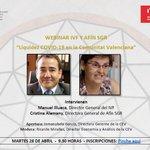 Image for the Tweet beginning: 📢Mañana celebramos un #webinar sobre