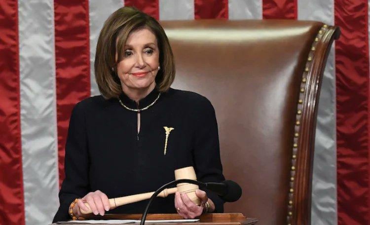 Nancy @SpeakerPelosi apporte à son tour son soutien à @JoeBiden.