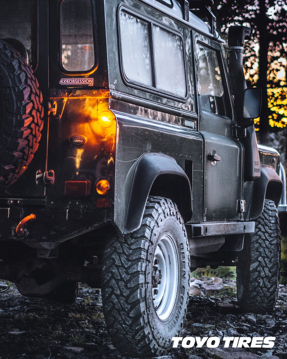 Tools for the job.  insta: @x4obsession.co.uk  #toyotires_uk #4x4obsession #opencountryMT pic.twitter.com/jUcYmbOuRB