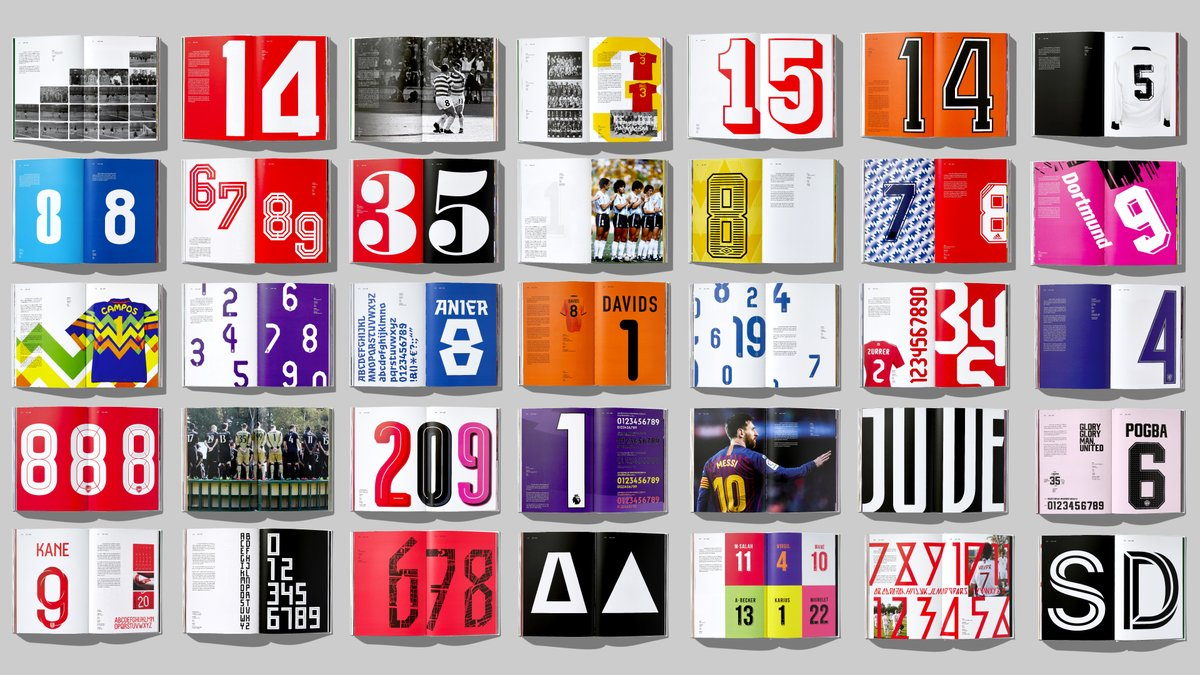 NEW WORK: After two years, we are delighted to announce our new book Football Type 2; the sequel and revised edition to the award winning book Football Type. Written by the hugely knowledgeable @Denis_Hurley the book celebrates the wonderful world of football and typography.
