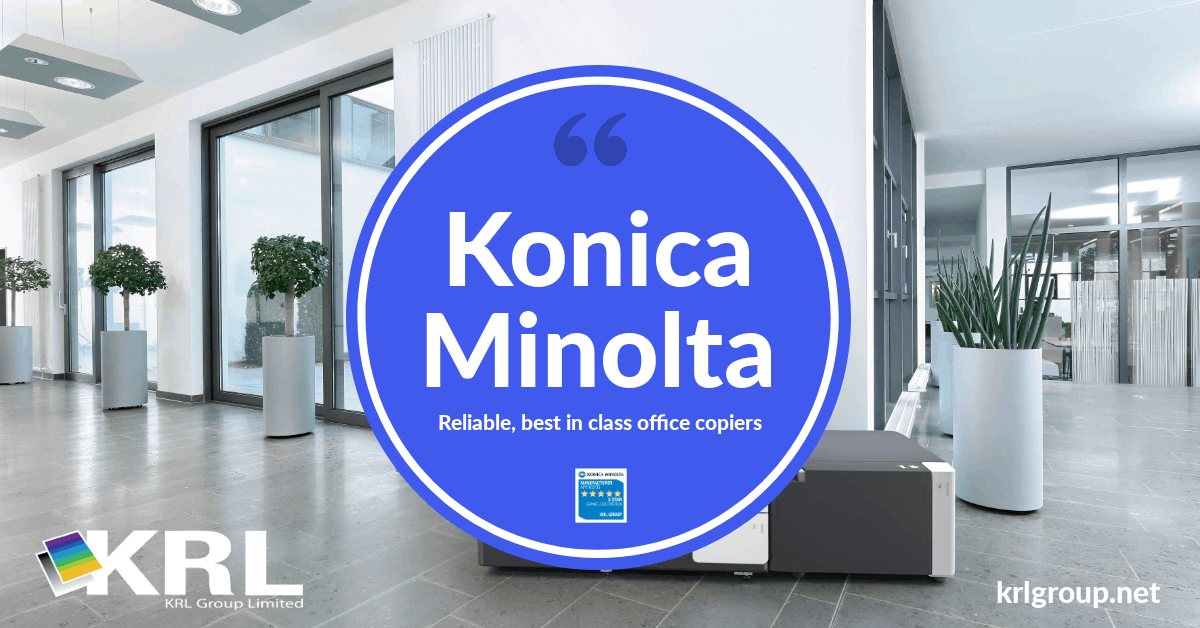 Konica Minolta mulit-function A3 and A4 copiers, service, sales and support #krl #copiers https://t.co/LLUvCw9sLV https://t.co/58GNTkklc3