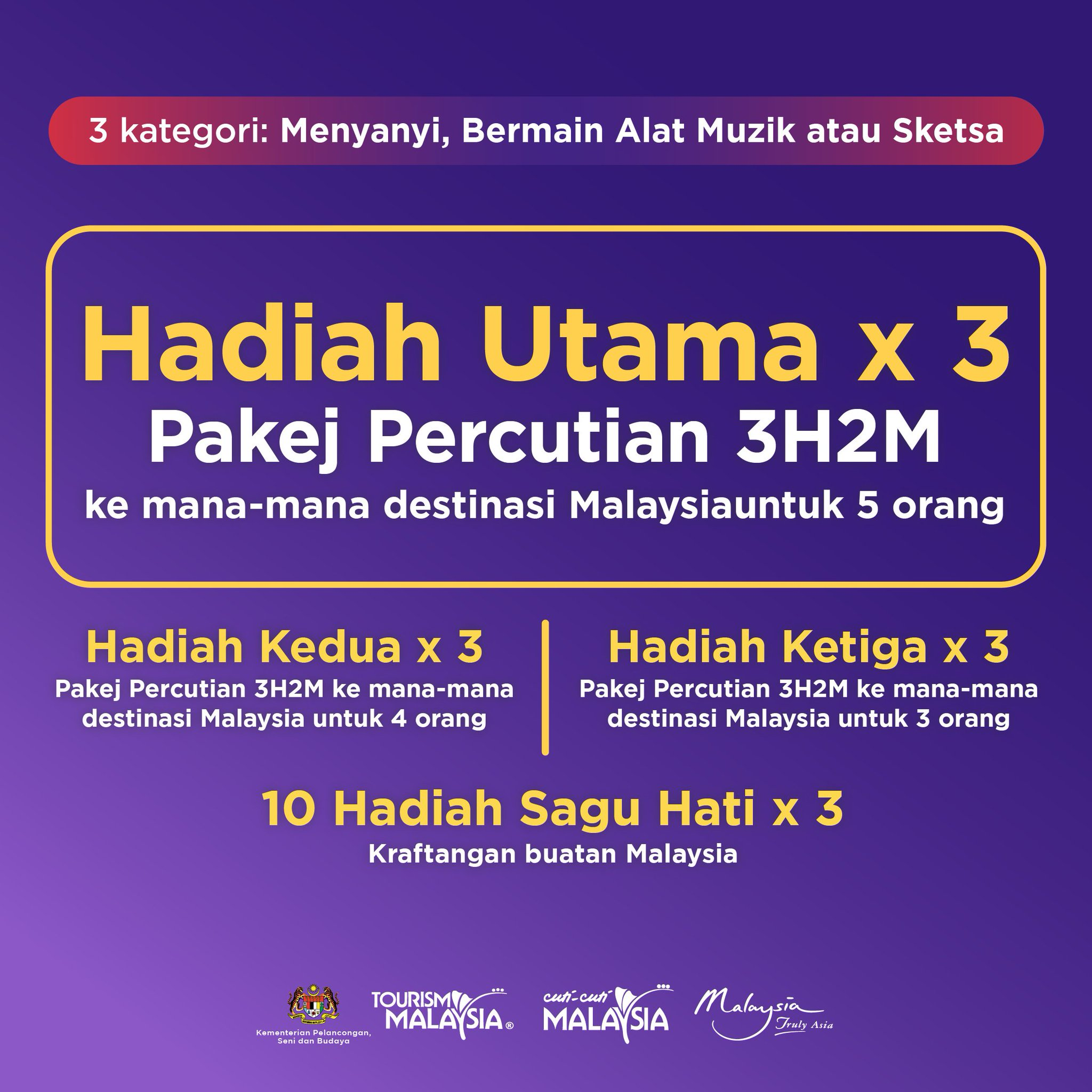 Gaya Travel Magazine On Twitter More Information On Cuti Cuti At Home Contest With Tourismmalaysia Malay Copy