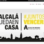 Image for the Tweet beginning: Alcalá estrena el portal web