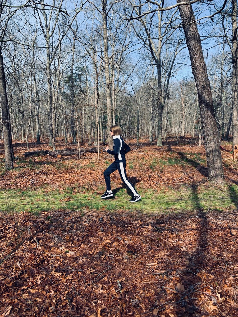 Anna Wintour speaks out on Donald Trump in a recent op-ed for Vogue. ...and yes, she's jogging in Air Force 1's.