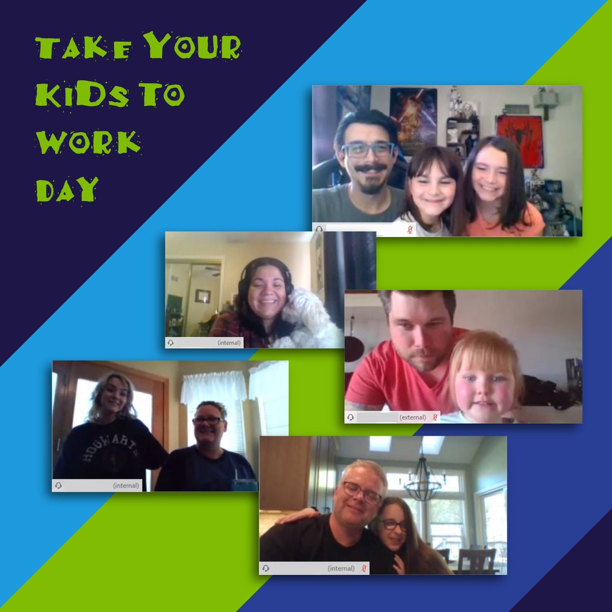 One thing these last few months has taught us is that every day can be #TakeYourKidtoWorkDay! Our children and our pets have become our coworkers (whether they like it or not). At ATG @Cognizant, our associates took some time to introduce us to their helpers. #ATG #Cognizant https://t.co/hgMWET44Kd