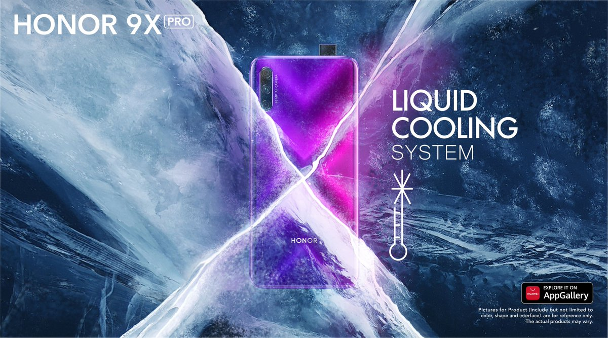Keeping a cool head is all part of the long game and that's why the #HONOR9XPro goes the extra mile with its liquid cooling system. #UpForXtraordinary  HIHONOR 👉https://t.co/Iu2IkqDkPa Lazada 👉 https://t.co/UWdUkqwQi9 Shopee 👉 https://t.co/GR1GOVXL7H https://t.co/aF3Ewijgz7