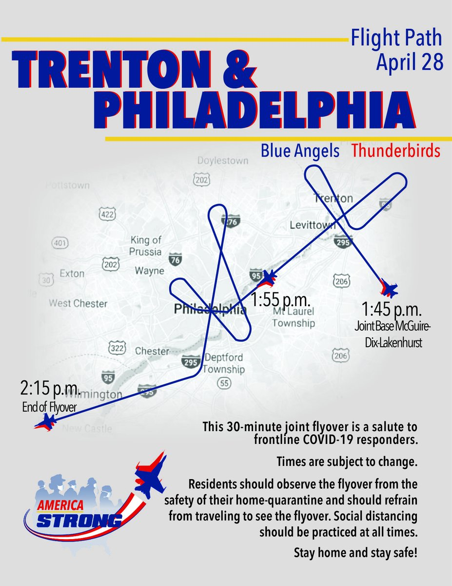 Blue Angels On Twitter 1 Of 2 Americastrong Announcement We Re Heading Your Way New York City Newark Trenton And Philadelphia On Tuesday Check Out The Overhead Times And Route On The Graphic