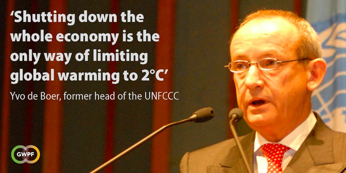 Flashback: Fmr. UN climate head predicted COVID lockdowns?!: 'The only way a 2015 agreement can achieve a 2-degree goal is to shut down the whole global economy'