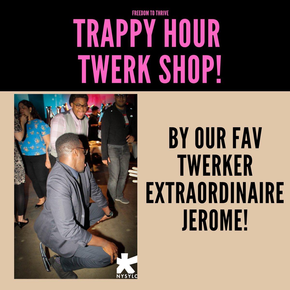 Twerking with Jerome!