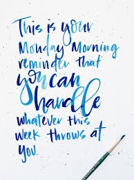 Happy Monday! We hope you have a fantastic week! #mckproud