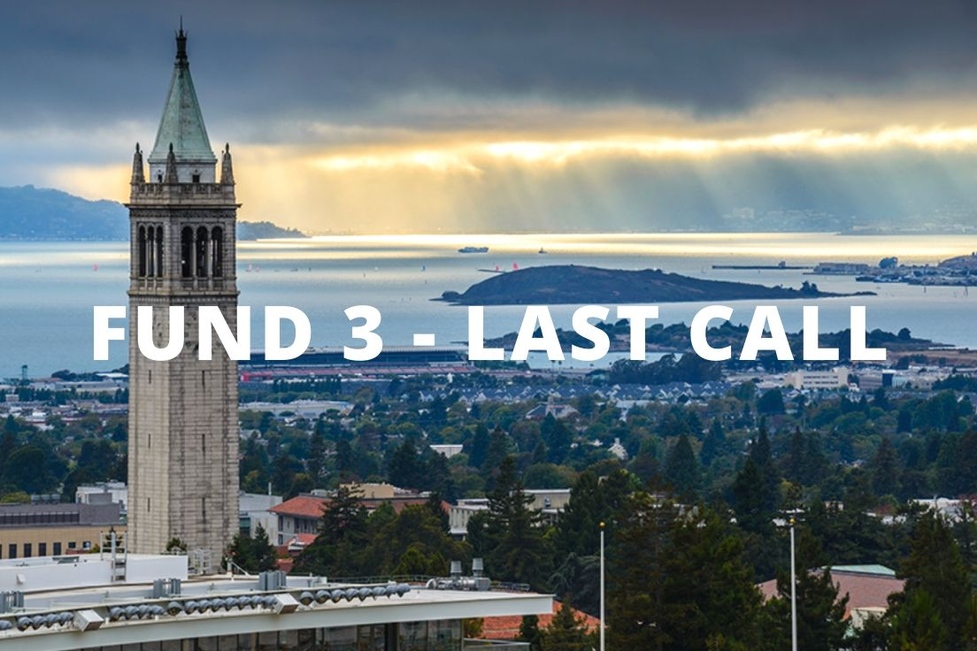 This is the last week to join us in Strawberry Creek Ventures Fund 3. Connect with our team today to learn more and invest in a portfolio of exciting private, venture-backed startups alongside UC Berkeley alums and friends: https://t.co/iXlwbmBl1S https://t.co/6SxherAKZu