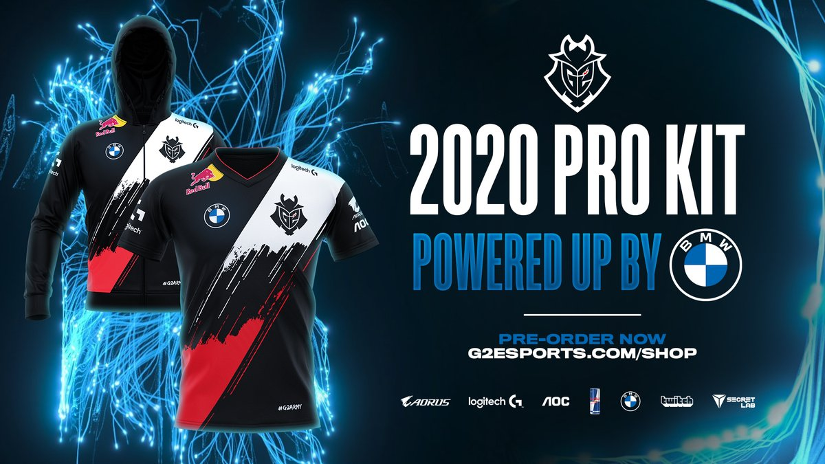 You spoke, we listened.  We're proud to reveal our revamped 2020 Pro Kit, powered by @BMW and designed for YOU. Thanks for your passion #G2ARMY ❤  BUY NOW: https://t.co/hpyyEPlDsO https://t.co/sNiFVgnjyJ