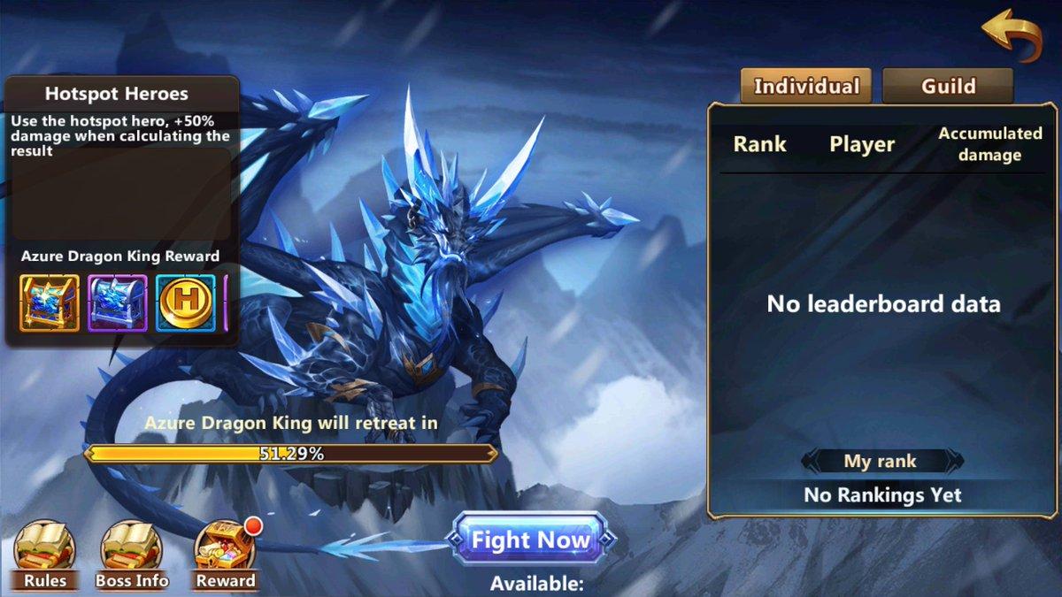 Azure Dragon Era of Chaos