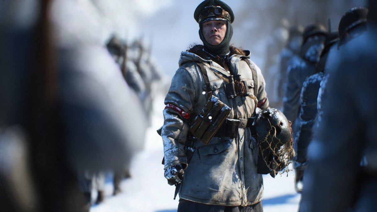 Jusqu'au 30 avril, connectez-vous à  #Battlefield V pour obtenir le skin Winterkrieg. https://t.co/33YUKmQBm2