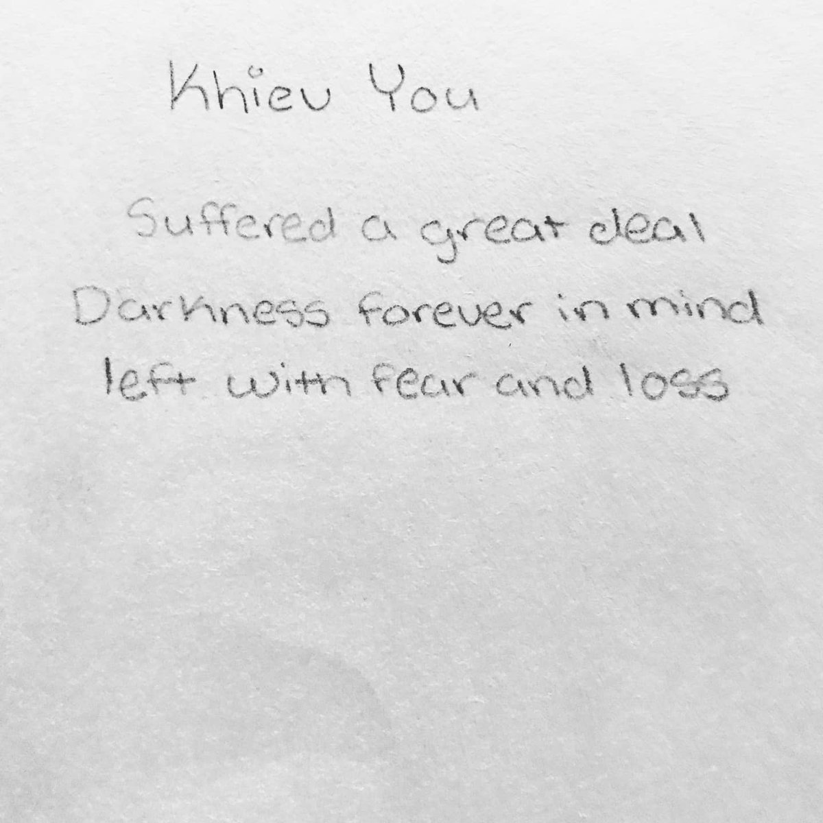 Students are submitting impressive, touching work in image & word. We will launch an online exhibition later this week, for now here is a small sample honoring survivor Khiev You of Cambodia by #VADA sophomore Matthew #bulldogsloveart #wearePUSD #PUSDProud #genocideawareness https://t.co/JXx5QuI18S
