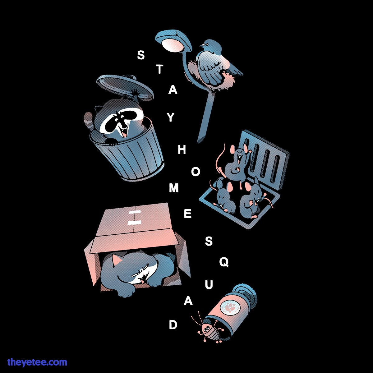 The Yetee On Twitter Home Is Where The Squad Is Even If The Squad Are All Lounging In Piles Of Trash Https T Co 87qafwbom2 Awesome tees for your torso! twitter