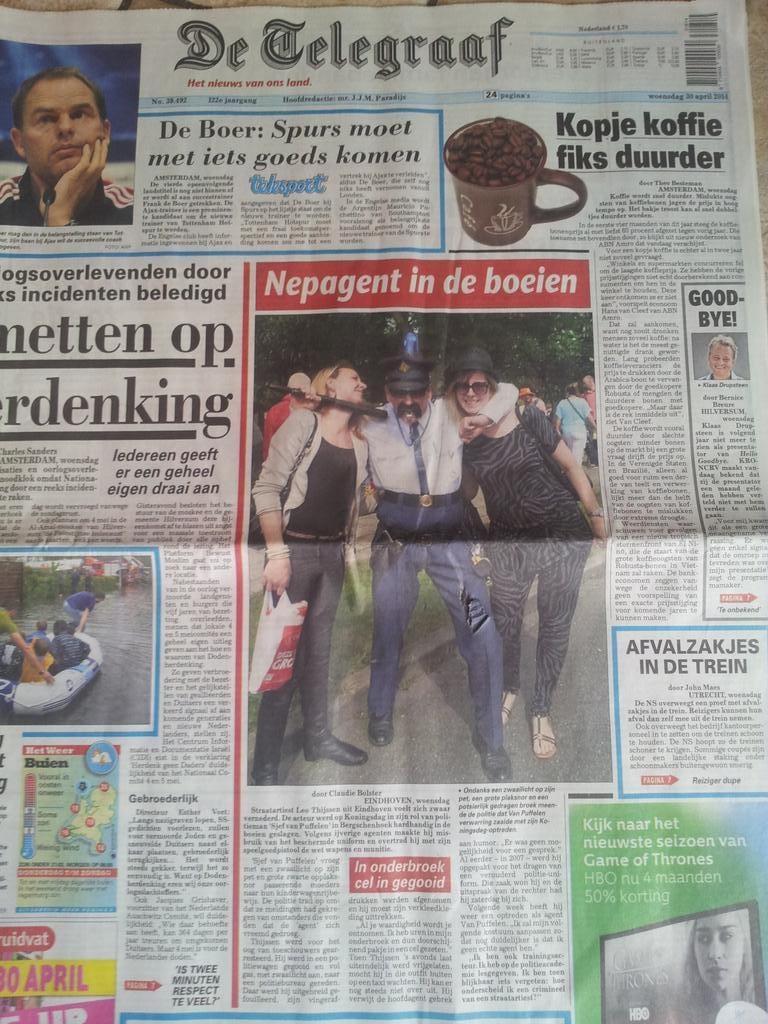 Vandaag 6 jaar geleden zat ik 6 uur in het gevang van #Politiebureau #RotterdamNoord In mijn onderbroek, zonder gsm, zonder horloge, zonder veters in mijn schoenen. Maar wel: #TrendingTopic nr.1