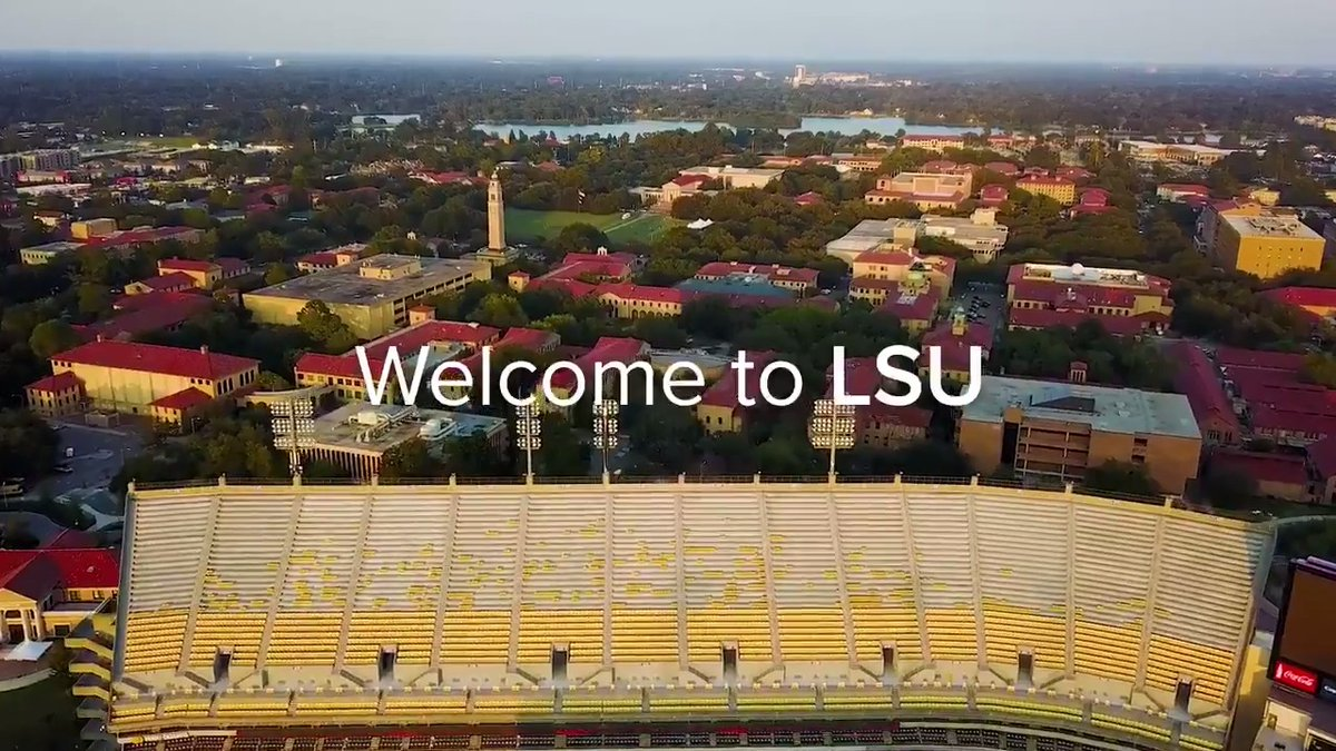 See campus from the comfort of your home. Take the LSU virtual campus tour now. https://t.co/az47zHT3yS