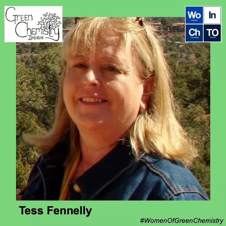Month #WomenOfGreenChemistry: Tess Fennelly