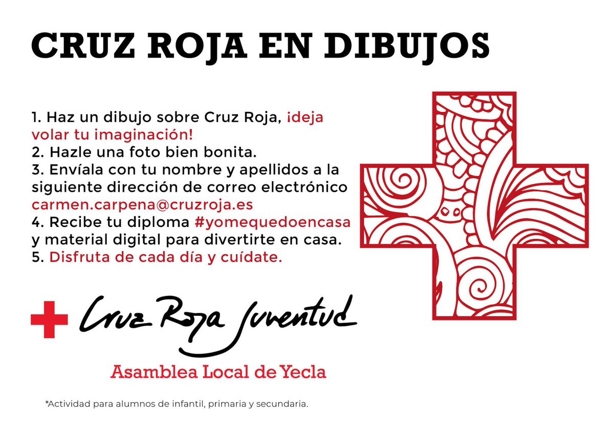 Cruz Roja Yecla Cruzrojayecla Twitter