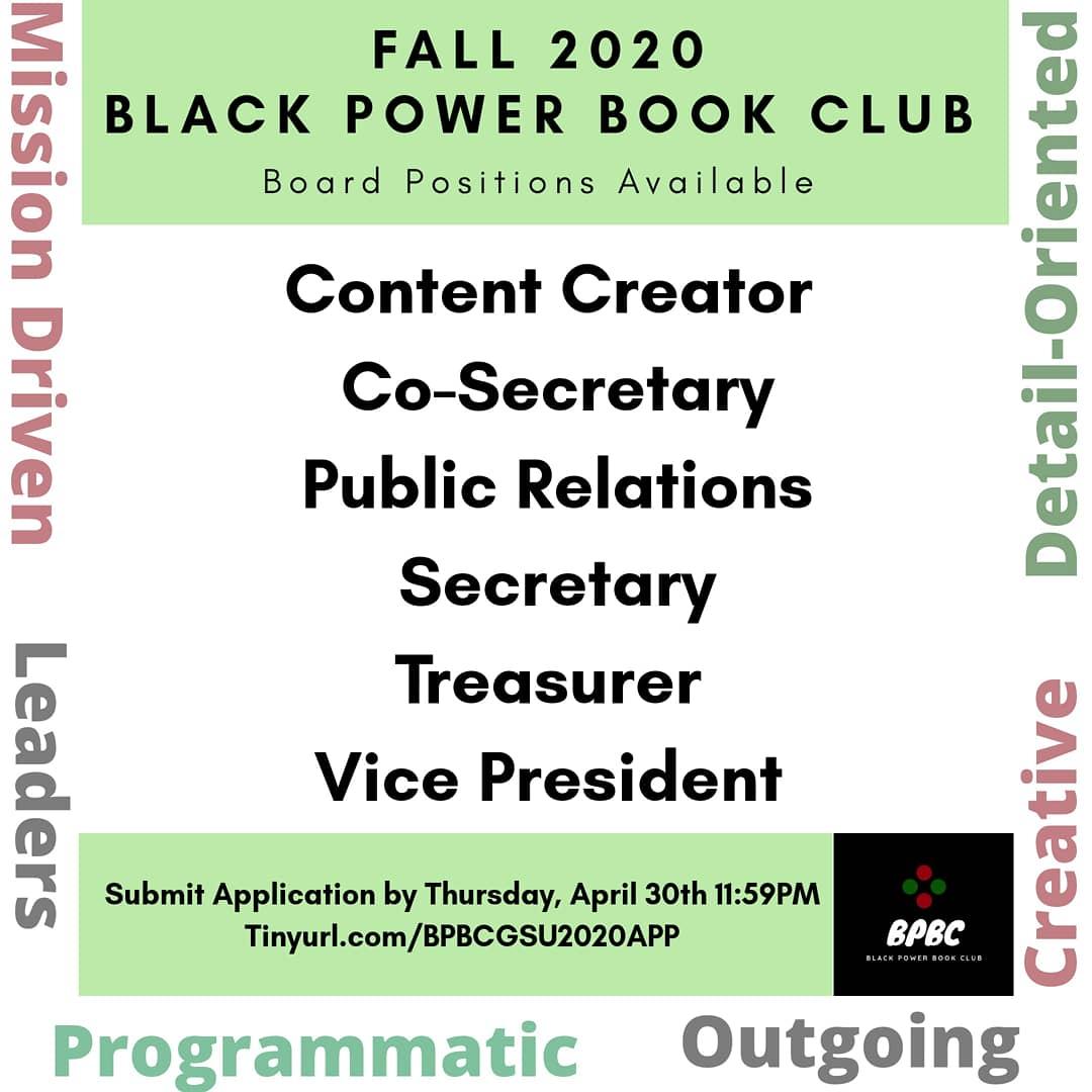 Join #BlackPowerBookClub!   https://t.co/G11GMDnt4u  #GeorgiaStateUniversity  #GSU21 #GSU22 #GSU23  #GSU24  #Atlanta #ATL  #College  #CollegeLife https://t.co/kWxvDDG12N