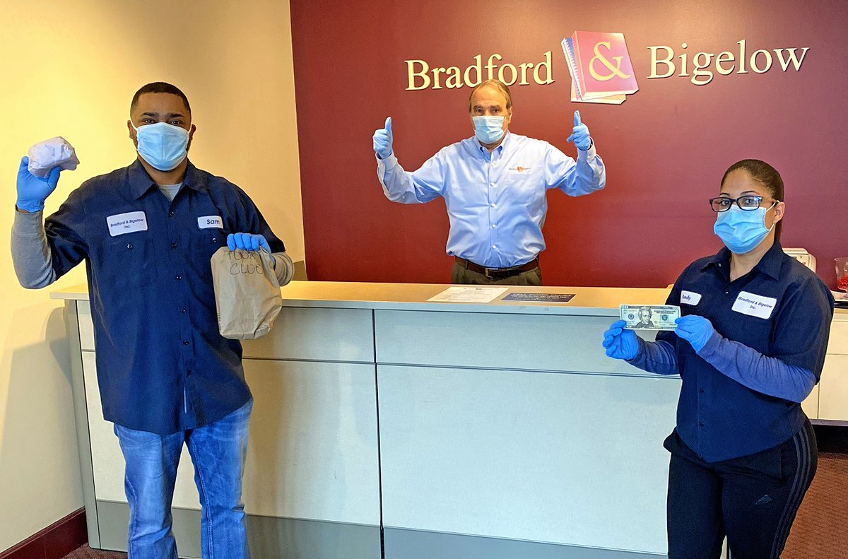 No small task! @Bradford_BigInc is working to protect its employees and keep morale up