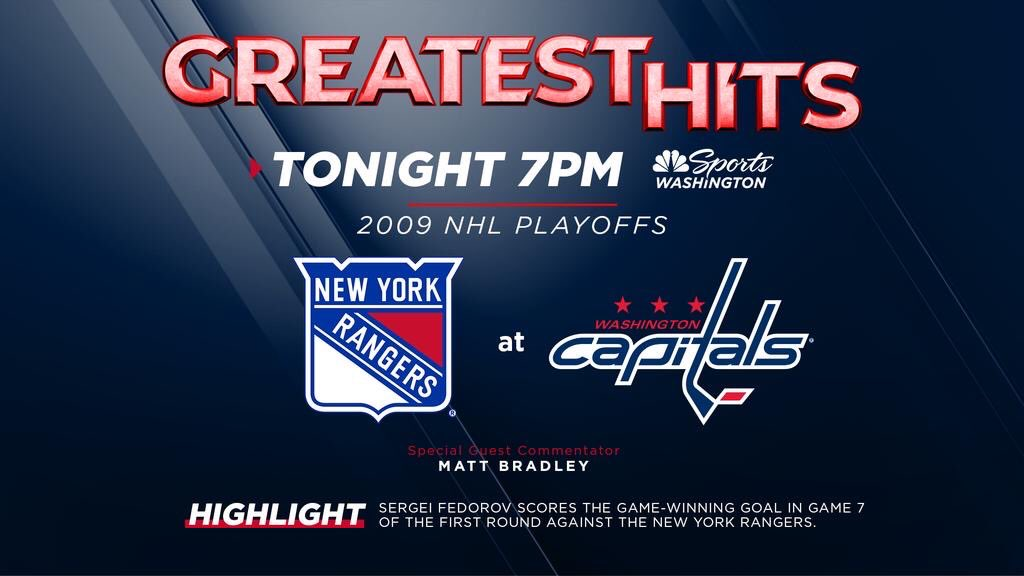 Yep! We have some hockey for your viewing pleasure tonight! Join me @JoeBpXp and good ole number 10 -Matt Bradley as we look back on this classic playoff game! https://t.co/D44Nrg3Y01