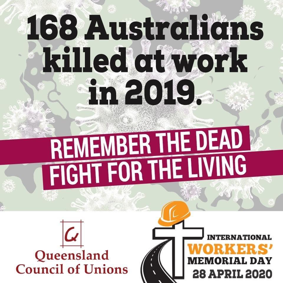 Senator Murray Watt On Twitter Today Is Workers Memorial Day