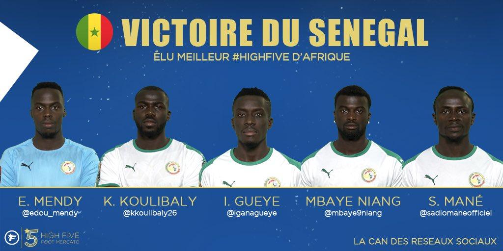 Le Sénégal 🇸🇳 remporte la CAN des réseaux sociaux #HighFive 🏆