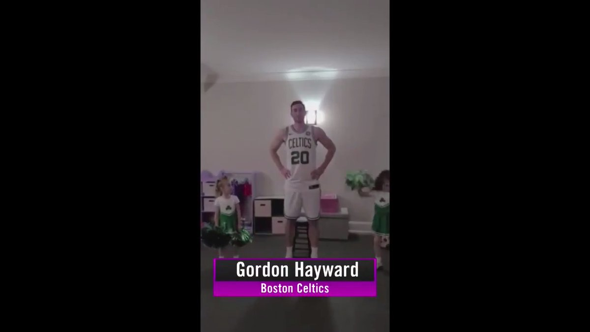 Did you see the latest #ShirtOffShootOut submissions from @JaValeMcGee @S10Bird @gordonhayward & @BobanMarjanovic? 🏀🔥