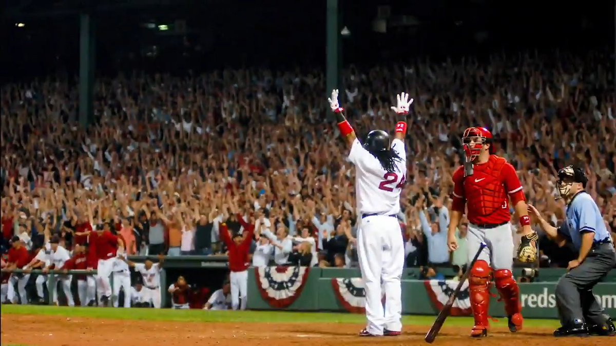 This is the most hype video I've ever seen. Go #RedSox! #BostonStrong