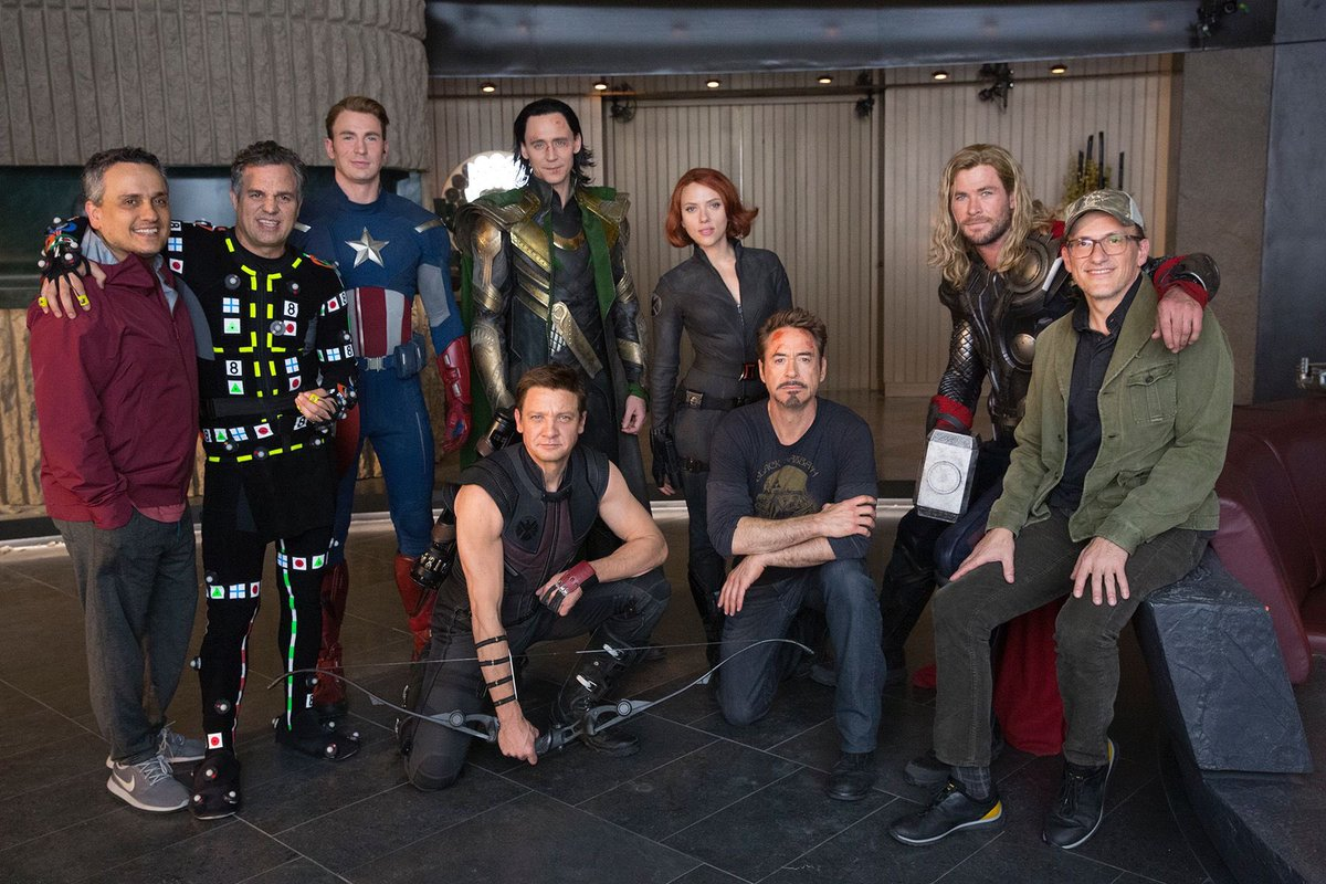 Rebuilding a set from a pre-existing movie is pretty damn cool. Also getting to hang out with the same, amazing cast year after year is also pretty damn cool… #AvengersAssemble