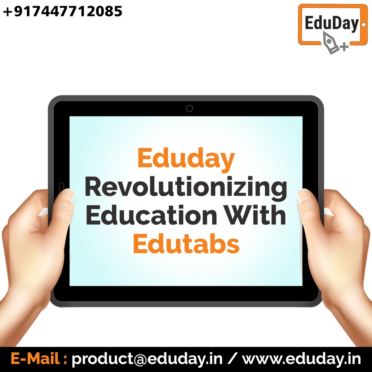 Transform Teaching, Inspire Learning and Deliver a world-class Student Experience.  Get in touch to know more:- Phone : +91 7447712085 E-Mail: product@eduday.in visit:- http://www.eduday.in  #eduday #edudayindia #pune #india #tab #tablets #CoachingInstitute #Coachingclassesspic.twitter.com/nTGDiz6QQd