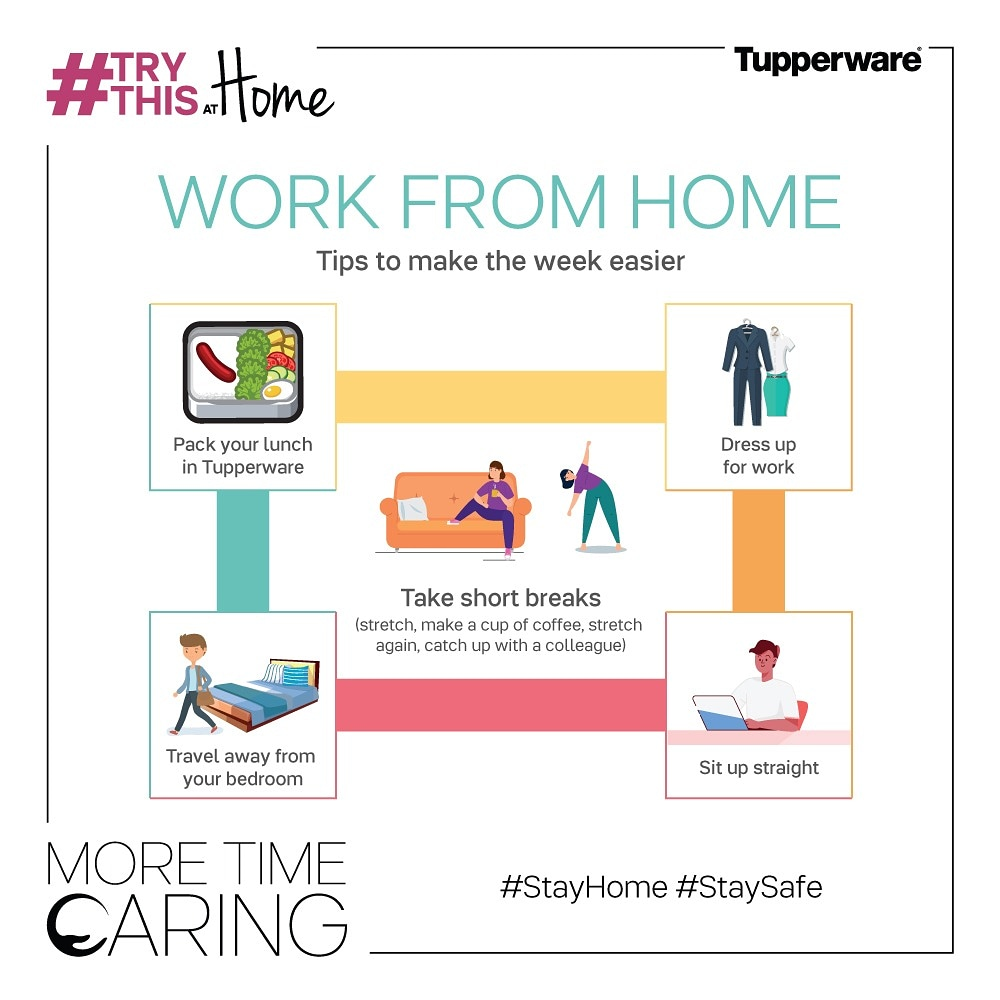 Working from home getting under your skin? Here are a few helpful #TryThisAtHome tips to get you sorted! #MoreTimeCaring #StayHome #StaySafe https://t.co/ZdCu6fCbkz
