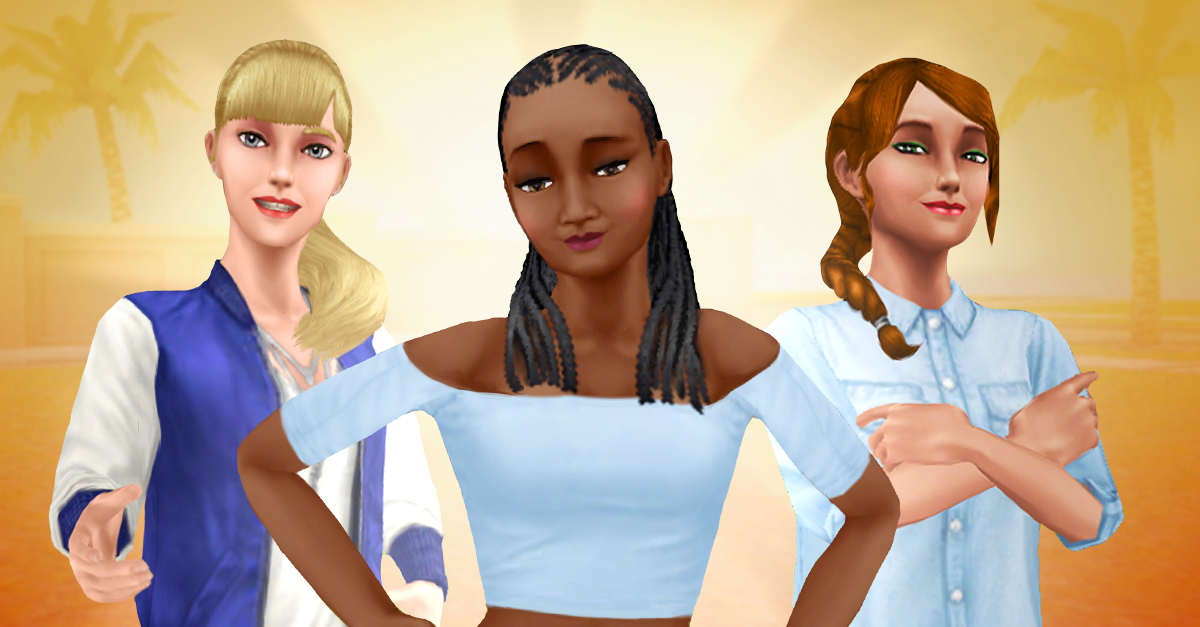 Let those long luscious locks down by completing the Long Hair Hobby. 👱🏿♀️