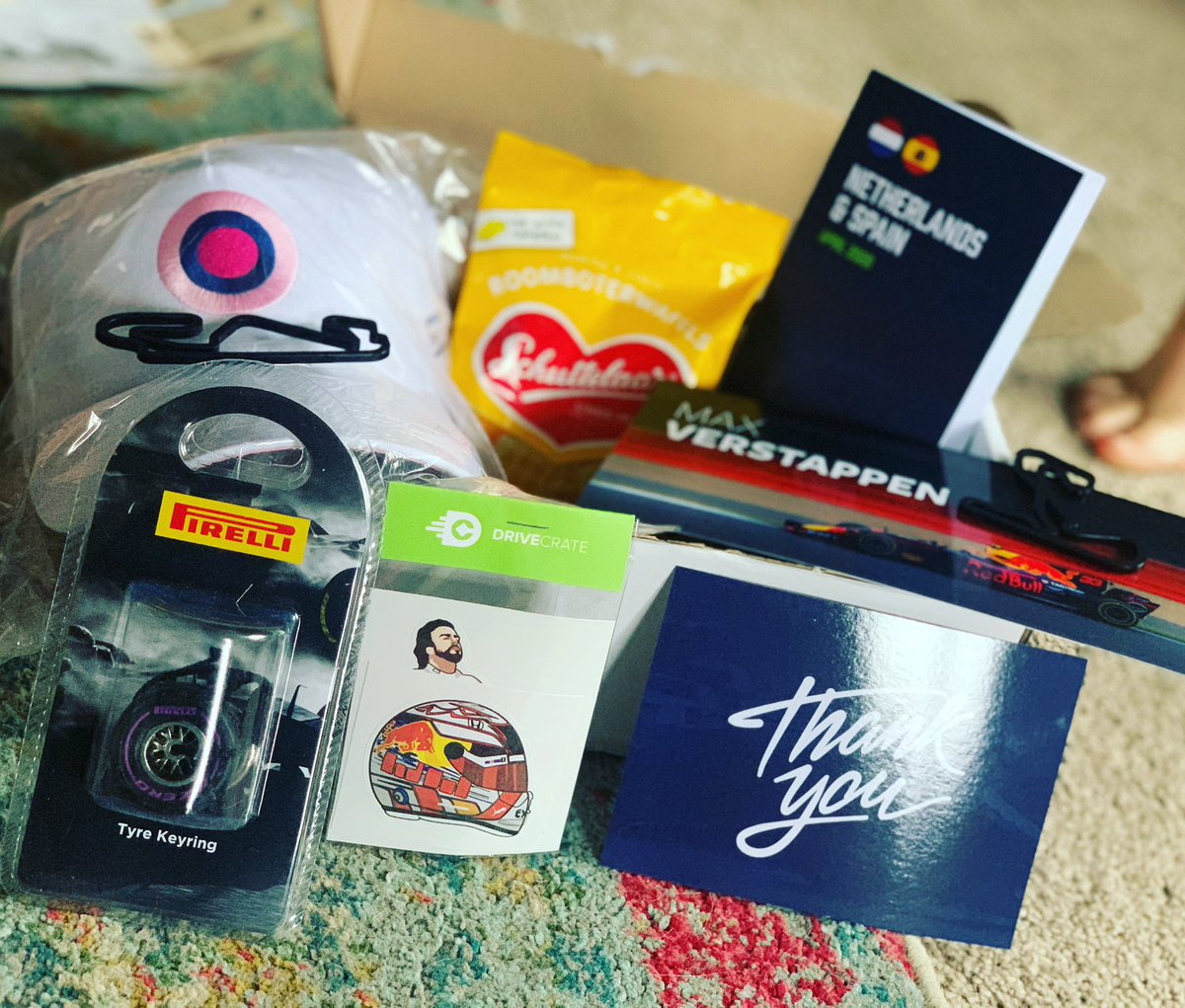 GetDriveCrate subscription box for sports fan