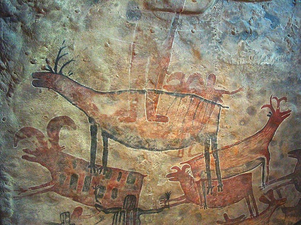 наскальные рисунки египта картинки тут