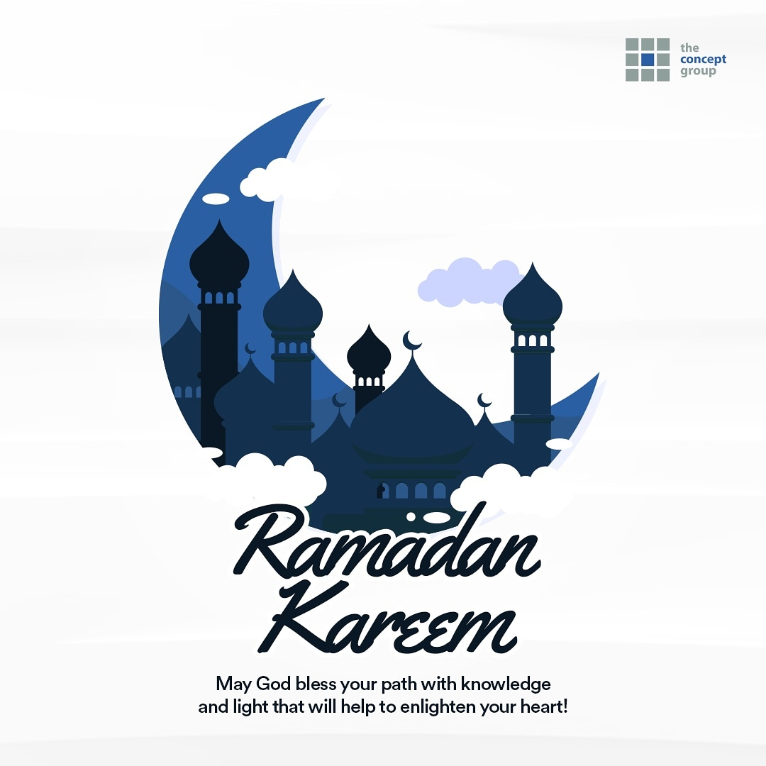 Ramadan Kareem, from all of us at The Concept Group.  . Visit https://t.co/FYiV1vXo4W for more about us.   . #ramadankareem https://t.co/FV3Czz9RqG