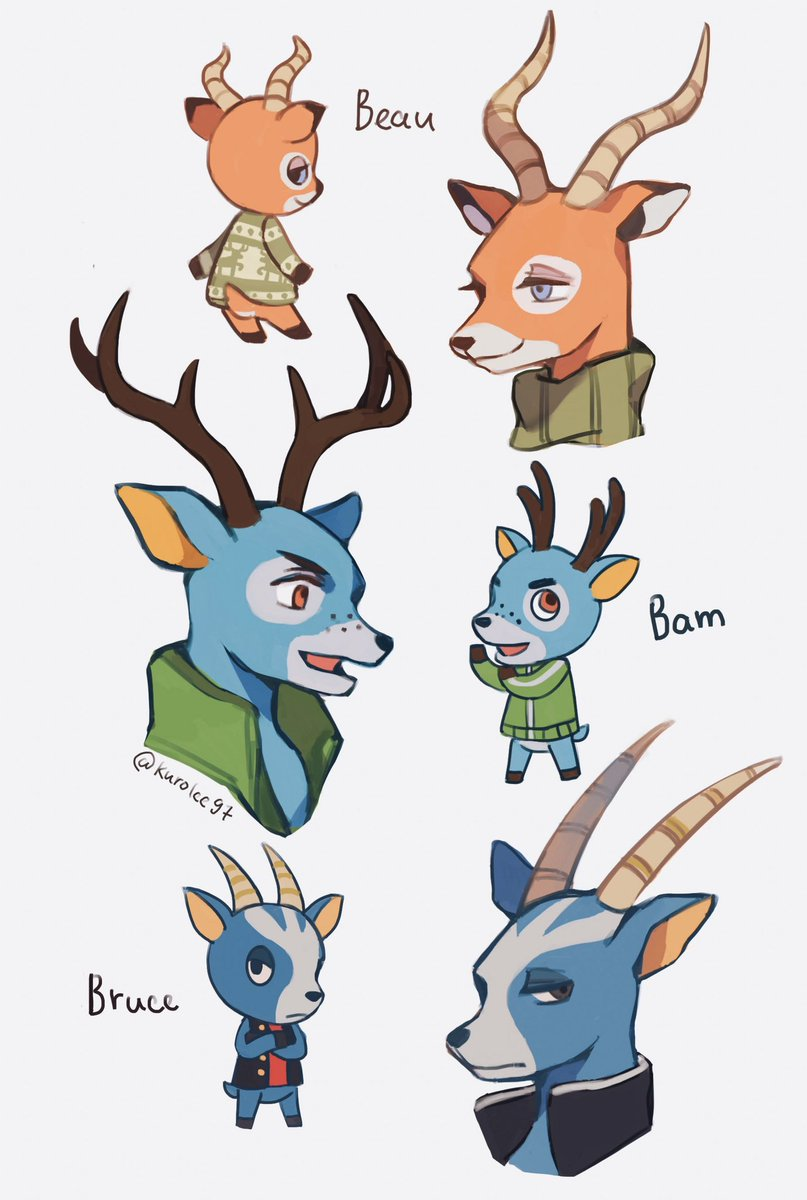 Kuro Lee On Twitter Hi Have A Deer Collection Sorry All