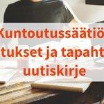 Image for the Tweet beginning: Kevään Koulutukset ja tapahtumat uutiskirjeemme