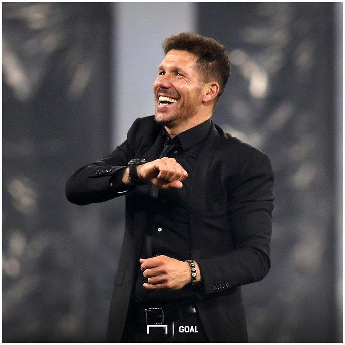 "\""Effort is the magic that makes success\"" - Diego Simeone Happy birthday, El Cholo"