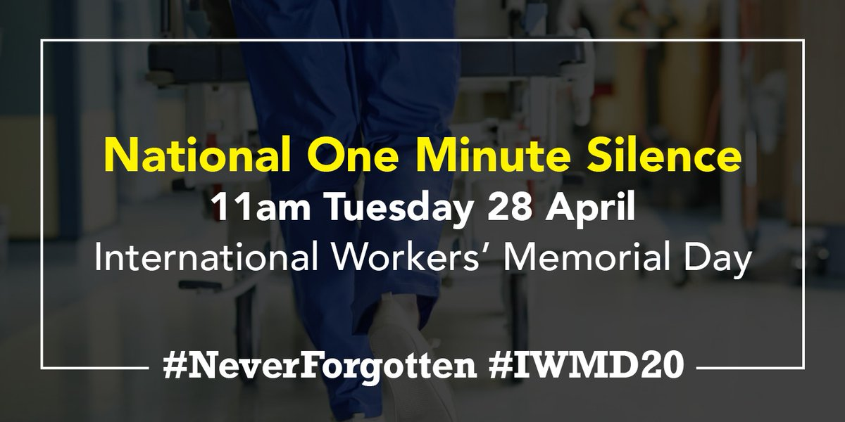 #tuesdaythoughts - take a minute at 11 am today to remember the #keyworkers from #healthandsocialcare who have lost their lives to keep us safe.   #neverforget #inthistogether https://t.co/GFjxDHbgUI