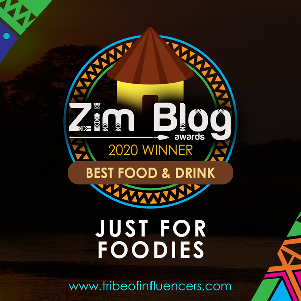 Best Food & Drink Award Zimbabwe Blogging Awards Just For Foodies