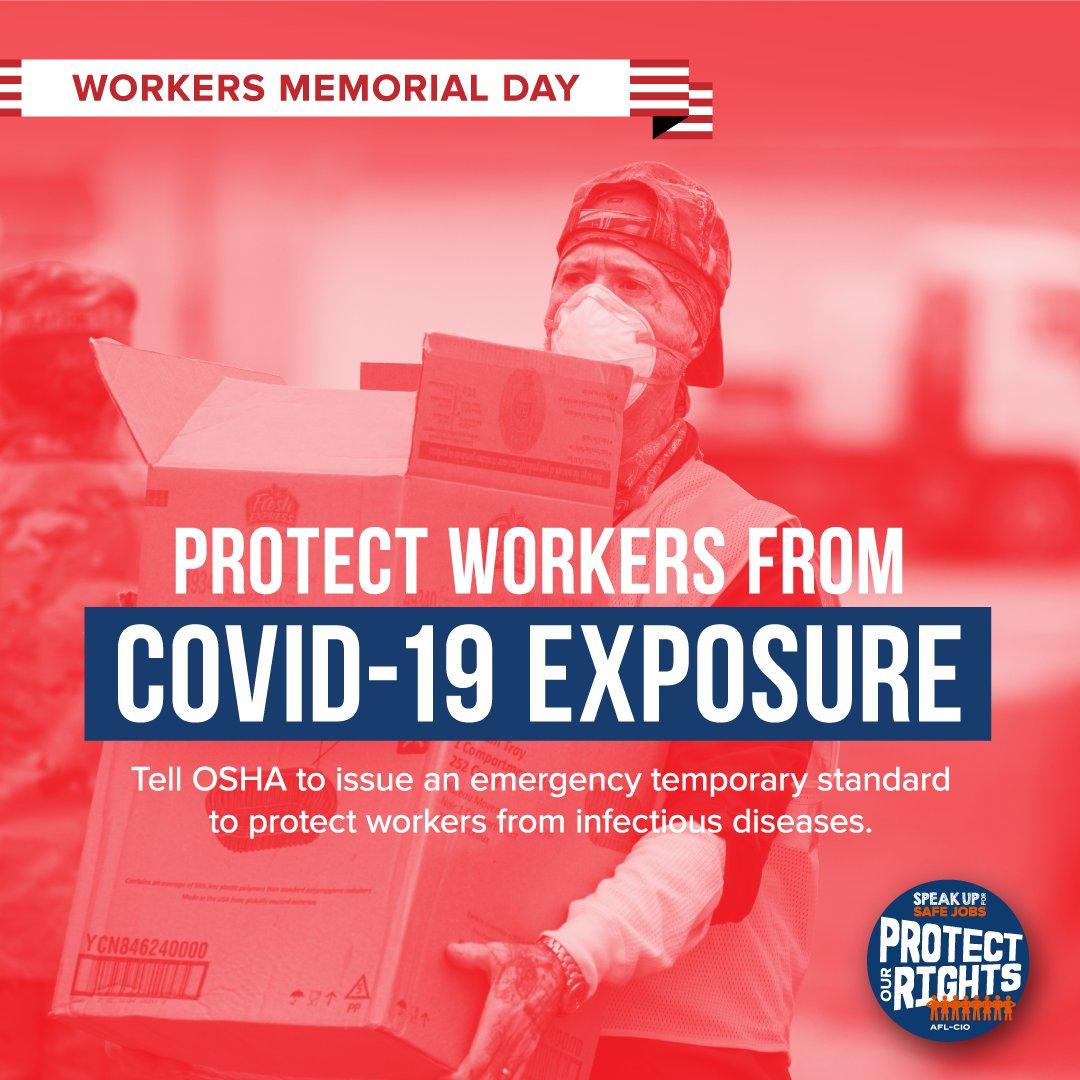 #WorkersMemorialDay #1u