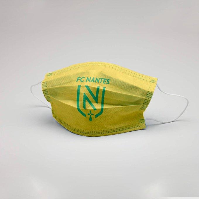 Masque FC Nantes Covid-19